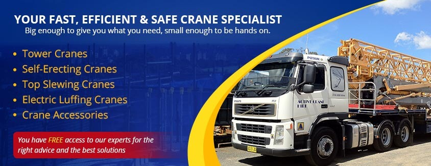 Active Crane Hire In Sydney | New & Used Cranes For Sale Or Hire