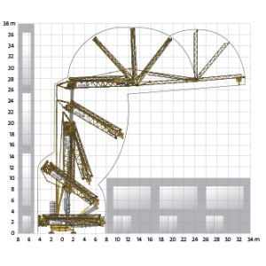 potain hup 32-27 self erecting crane erecting diagram