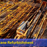 Fully refurbished crane parts